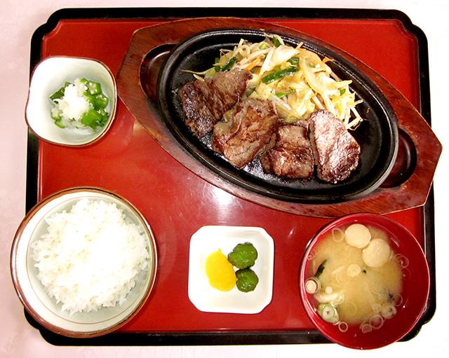 馬肉スタミナ定食
